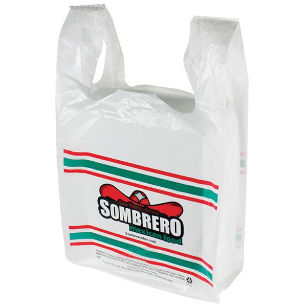 Sombrero t shirt bag