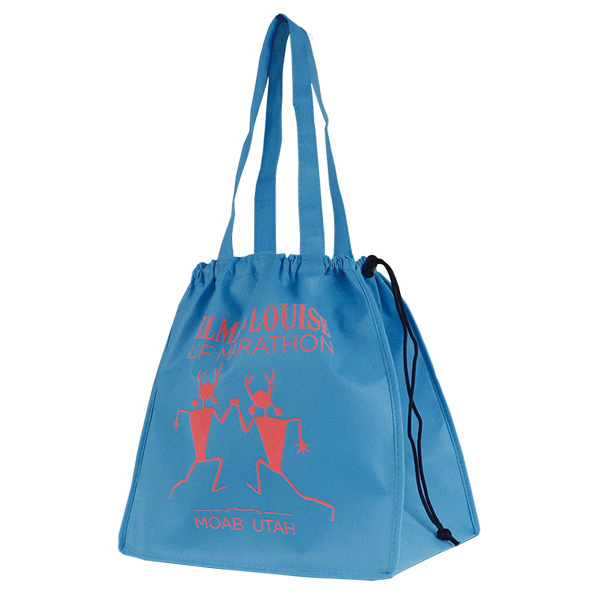 Drawstring Shopper